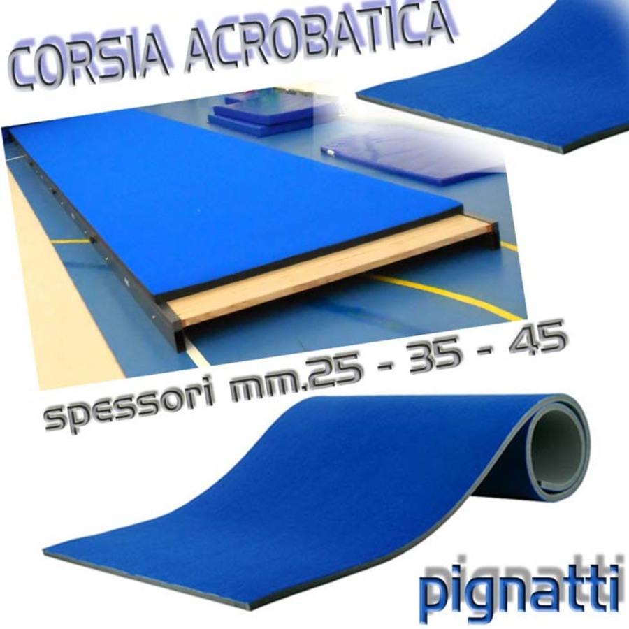 Corsie Di Moquette.Usato Corsia Acrobatica Facilitante Realizzata In Espanso